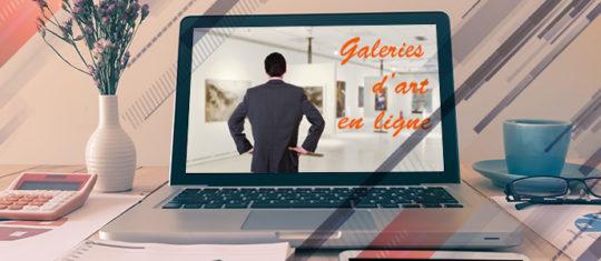 Galeries d'art en ligne